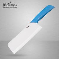 Porcelain 6 ceramic knife kitchen knife zirconium gem ceramic knife meat cutting knife wear-resistant antibiotic