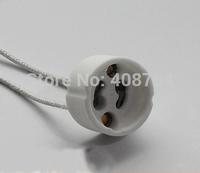 GU10 Lamp holder,white base, High Quality,20pcs/lot