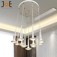 New Arrivals LED chandelier Candle light Dinning room light fixtures modern lamps home Art Deco lights 9127