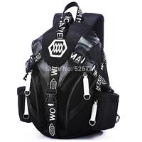 freeshipping unisex Vintage Canvas Satchel School travel swagger Single shoulder travel bag Shoulder women backpack
