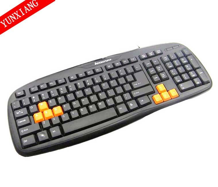 2014 hot selling super cheap Mogoi Waterproof USB Wired Silica Gel Computer Desktop Keyboard, Black(China (Mainland))