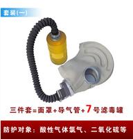 Free shipping Gas mask respirator mask + combination spray tank