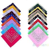 hip-hop bandanas for Male female men women head scarf Scarves multi colour style Wristband 2014 Cotton 100%