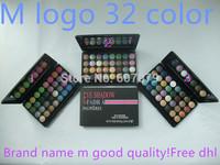 free shipping DHL 20pcs/lot  2014 New PRO 32 Color Makeup Eyeshadow Platte fard a paupieres 64g Charming MC EYE SHADOW