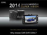 2014 New Mini 1080P Car DVR Vehicle Camera Video Recorder Dash Cam G-sensor HDMI G3WL Car recorder DVR Free Shipping
