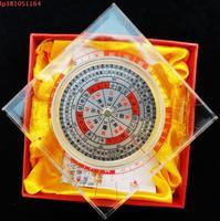 LijuMing Auto authentic Professional feng shui compass, Palm size.