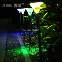 20 LED Solar lights solar lawn light lawn lights garden lights ventress lamp free shipping