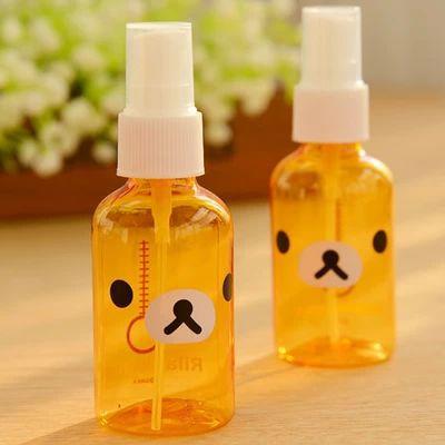 Hot Sale Cartoon Relax Bear Portable Mini Refillable Empty Atomizer Spray Perfume Bottle Travel New A364(China (Mainland))