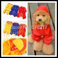 10pcs fashion cut Pet raincoat dog raincoats random color Dog clothes poncho Big Medium Small dog NO.10 size