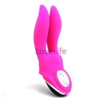 Happy Bunny - Rabbit Vibrator, 7 speeds vibration,Strong shock,Waterproof