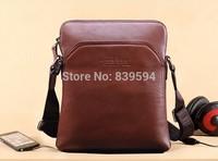 Men's shoulder bag diagonal fashion leisure soft leather man bag business bag