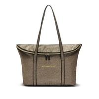 Free Shipping 2014 Women Golden Bling Handbag Fashion Totes Bag Designer Brand Casual Suede Shoulder Bag VS Bucket Ladies Bag