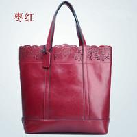 NEW 2014 women handbag genuine leather bags women messenger bag shoulder bag fashion designers handbags ladies totes bolsas M119