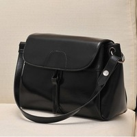 Free Shipping Fashion All-Match Casual Women Handbag 2014 High Quality Pink White Black Fur Ladies Messenger Bags Christmas Gift