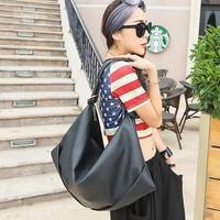 Free Shipping Personality Fashion Women Handbags 2014 Ladies Shoulder Bags Black Brown Fur Female Casual Big Bag Christmas Gift