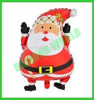 New Christmas balloon foil balloon party decoration balloon Santa claus free shipipng 50pcs/lot