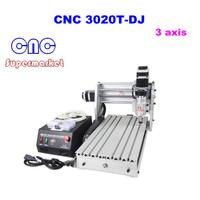free shipping, CNC router 3020T-DJ,engraving machine cnc 3020 , 220V