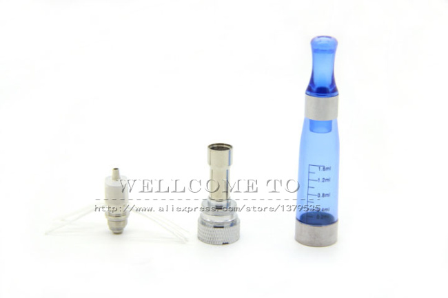 3Pcs lot CE4 eGo CE6 Plus Atomizer Mixed Color Clearomizer with Replaceable Core for E Cigarette