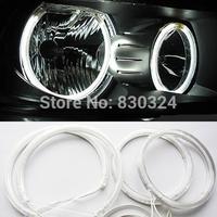 For BMW E90 Car CCFL Angel Eyes Halo Ring HeadLight Kit with 4pcs ccfl angel eyes and 2pcs ccfl inverters