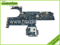 Free shipping 593839-001 for HP pavilion 6540B laptop motherboard intel HM57 DDR3 with ATI graphics card tested works perfert