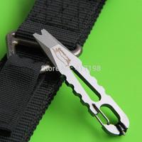 VAT(Vox Access Tool), prying tool, carbide glass-breaker, bottle opener, nail puller, shackle opener,carabiner free Shipping