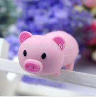 EH006-8GB Fashion Hot Cartoon Cute Pig Model 4GB 8GB 16GB 32GB 64GB USB Flash 2.0 Memory Drive Stick Free Shipping