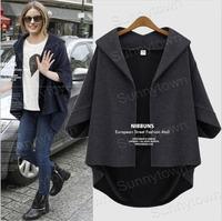 Wholesale fashion 2xl 3xl 4xl 5xl plus size women clothings desigual casual loose 2014 autumn winter jackets coats over size