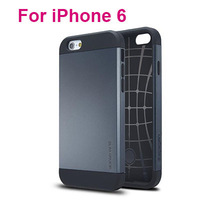 """2014 New Dual Protection Rugged TPU + Plastic SGP Slim Amor Cases For iPhone 6 i6 iPhone6 Air 4.7"""" Inch Cover 50pcs/lot"""
