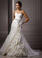 Charming A-line formal wedding dresses A3551