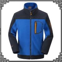 2014 new winter men outdoor Fleece jackets wind and warm fleece jacket ski mountaineering camping three color L-3XL