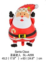 2014 new 100% high quality 45*60CM 10pcs Cartoon Decoration theme foil balloon Christmas balloon Children's toy balloon