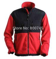 Free Shipping Men's Denali Fleece Jacket Fashion Denali Fleece Jacket Outdoor Casual Windproof Warm Down Jacket Outerwear  Black