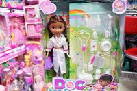 29cm Junior's Doc McStuffins AND FREIENDS DOC McStuffins plastic Doll ,retails, High Action Figures Classic Toys girl gift
