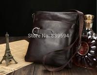 Korean men's casual shoulder bag Messenger bag briefcase cowhide leather business bag men