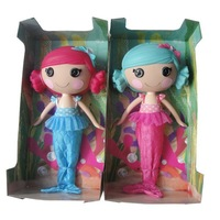 2014 New MGA mini 35CM Lalaloopsy Doll with Articulated Head, Arms & Legs girls classic toys mermaid / color random