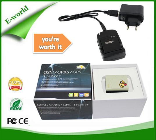 Portátil Micro pessoal e animais de estimação dispositivo de rastreamento GPS TK201-2 rastreador GPS para animais com tempo real web de rastreamento on line(China (Mainland))