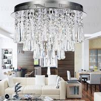 free shipping 40cm60cm led gu10 K8  crysta  High quality modern luxury  led lighting crystal modern minimalist