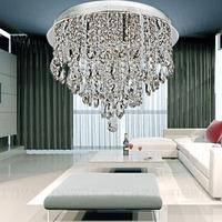 free shipping led gu10 Guarantee K9 crysta  High quality modern luxury led lighting crystal ceiling light