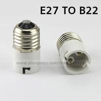 E27 to B22 Base Socket Adapter Converter Holder For LED Light Lamp Bulbs