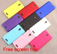 Free Scree Film Lenovo S660 Mobile Cover Case Lenovo S660 Plastic Case S660 Case Free Shipping