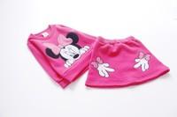 New! Children Girls Hoodies Set  Baby Kids Girls  Outwear  Sweatshirts Set Hoodies+Skirt 83128