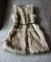 Autumn and winter fashion star fox fur artificial female vest