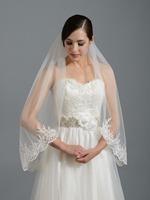 Bride veil paillette big laciness the wedding veil crystal formal dress accessories bridal veil