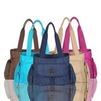 2014 Autumn Winter New Style High Quality  Soft Washed Nylon Women Messenger Tote Bags Women Handbags#HC121~HC125