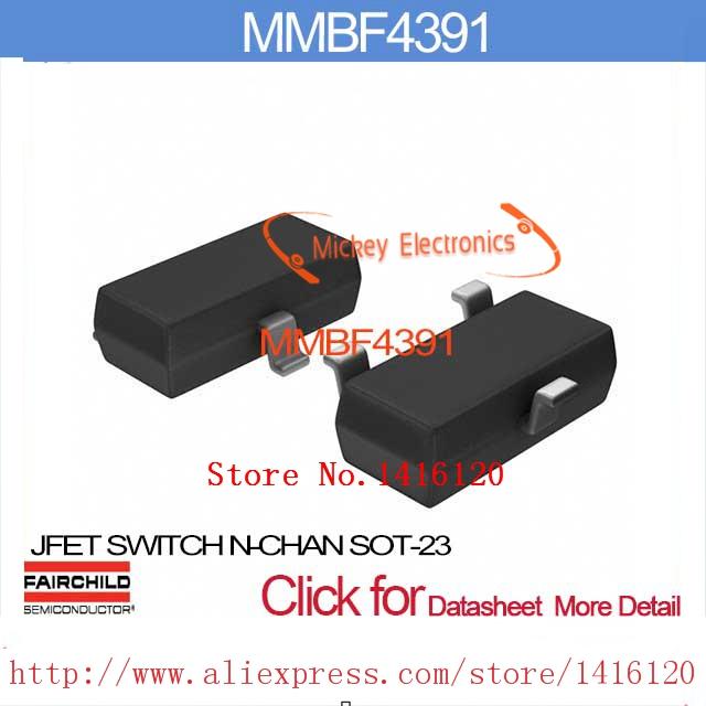 MMBF4391 JFET SWITCH N-CHAN SOT-23 MMBF4391 4391 F4391 BF4391(China (Mainland))