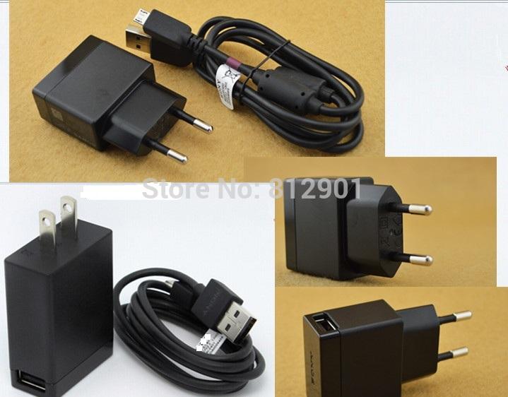 5 V 1.5A Original EP880 rápida de parede carregador com cabo USB para Sony Xperia Z1 Z2 Z Ultra jt et Z SP Ray Pro jogar T Neo Arc S(China (Mainland))