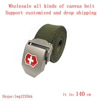 the best gift for Husband outdoor sports special canvas belt for men Relaxed and comfortable with Genuine Leather clothes