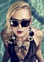 New Hot womens Luxury Cat Eye Designer Shades glasses luxurious UV400 Sunglasses