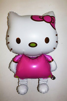 New cute hello kitty 116CM/80CM oversized aluminum helium balloon wholesale party supplies toys KT Cat.1ps