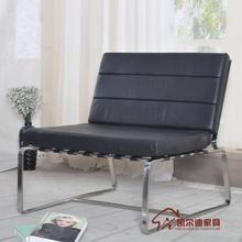kai erdi sala móveis lounge chair barcelona cadeira lorna sofá de couro cadeira armação de aço inoxidável(China (Mainland))